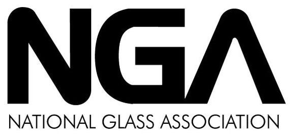 National glass association logo